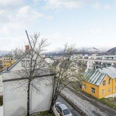 Отель Enter Tromsø Apartments Норвегия, Тромсе - отзывы, цены и фото номеров - забронировать отель Enter Tromsø Apartments онлайн балкон