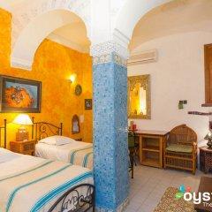 Отель Riad Maison-Arabo-Andalouse Марокко, Марракеш - отзывы, цены и фото номеров - забронировать отель Riad Maison-Arabo-Andalouse онлайн комната для гостей фото 4