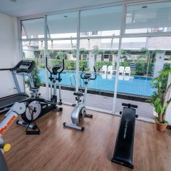 Отель NIDA Rooms 597 Suan Luang Park фитнесс-зал фото 2