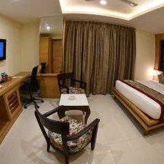 Отель Grand Rajputana Индия, Райпур - отзывы, цены и фото номеров - забронировать отель Grand Rajputana онлайн комната для гостей фото 3