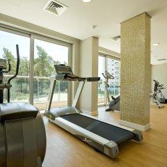 Отель Monte Gordo Apartamento And Spa Монте-Горду фитнесс-зал