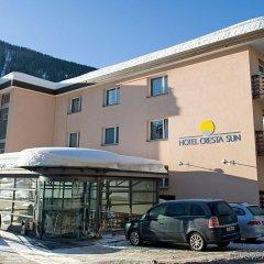 Отель Cresta Sun Швейцария, Давос - отзывы, цены и фото номеров - забронировать отель Cresta Sun онлайн парковка