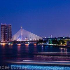 Отель Baan Wanglang Riverside бассейн