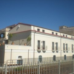 Palazzo Reginella Residence Hotel Бовалино-Марина вид на фасад