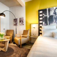 Отель NYX Hotel Milan by Leonardo Hotels Италия, Милан - 1 отзыв об отеле, цены и фото номеров - забронировать отель NYX Hotel Milan by Leonardo Hotels онлайн комната для гостей фото 5