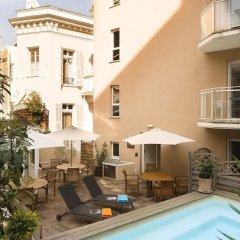 Отель Villa d'Estelle Франция, Канны - отзывы, цены и фото номеров - забронировать отель Villa d'Estelle онлайн балкон