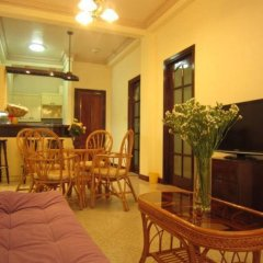 Апартаменты Giang Thanh Room Apartment питание