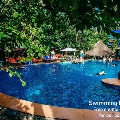 Отель Villa Deux Rivieres Лаос, Луангпхабанг - отзывы, цены и фото номеров - забронировать отель Villa Deux Rivieres онлайн бассейн фото 2