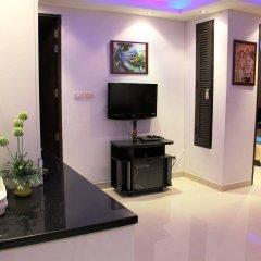 Апартаменты Wongamat Privacy By Good Luck Apartments Паттайя удобства в номере