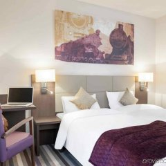 Отель Mercure Hotel Brussels Centre Midi Бельгия, Брюссель - отзывы, цены и фото номеров - забронировать отель Mercure Hotel Brussels Centre Midi онлайн комната для гостей фото 4