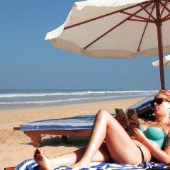 Отель Wunderbar Beach Club Hotel Шри-Ланка, Бентота - отзывы, цены и фото номеров - забронировать отель Wunderbar Beach Club Hotel онлайн пляж