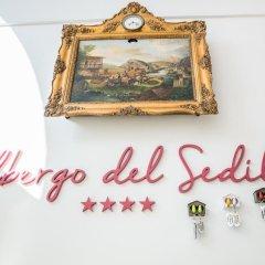 Отель Albergo Del Sedile Матера интерьер отеля фото 2