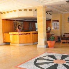 Отель Diar Yassine Тунис, Мидун - отзывы, цены и фото номеров - забронировать отель Diar Yassine онлайн интерьер отеля фото 2