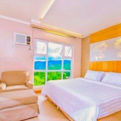 Отель Chalet Baguio Филиппины, Багуйо - отзывы, цены и фото номеров - забронировать отель Chalet Baguio онлайн комната для гостей фото 5