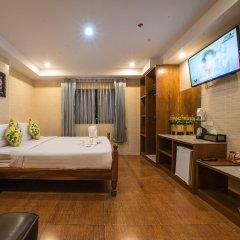 Отель VITS Patong Dynasty 3* Улучшенный номер разные типы кроватей
