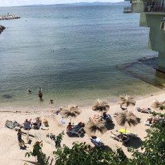 Отель Interhotel Pomorie пляж