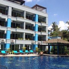 Отель Aonang Silver Orchid Resort бассейн