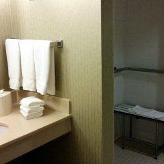 Отель Hilton Garden Inn Bloomington Блумингтон ванная