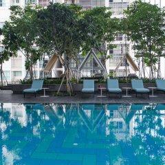 Oasia Hotel Downtown Singapore бассейн фото 2