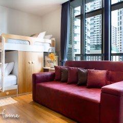 Отель City Park Luxury Home Бангкок комната для гостей фото 2