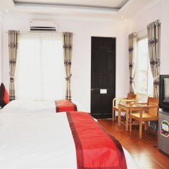 Hanoi Downtown Hotel комната для гостей
