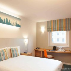 Отель ibis Styles London Excel комната для гостей