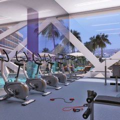 Amethyst Napa Hotel & Spa фитнесс-зал
