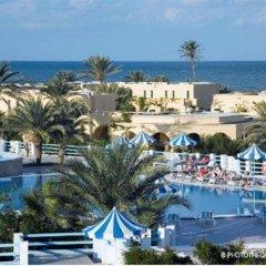 Отель Baya Beach Aqua Park Resort & Thalasso Тунис, Мидун - отзывы, цены и фото номеров - забронировать отель Baya Beach Aqua Park Resort & Thalasso онлайн пляж фото 2