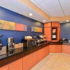 Отель Fairfield Inn And Suites By Marriott Columbus West Колумбус питание