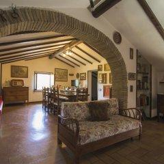 Отель Il Castello Di Perchia Сполето интерьер отеля