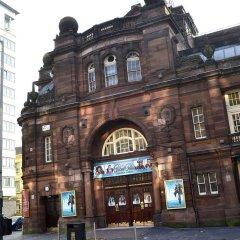 Отель Holiday Inn Express Glasgow Theatreland городской автобус
