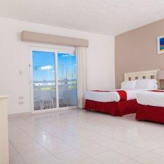 Отель Holiday Inn Cancun Arenas Мексика, Канкун - отзывы, цены и фото номеров - забронировать отель Holiday Inn Cancun Arenas онлайн комната для гостей фото 9