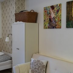 Апартаменты Studio under Vysehrad castle II. Прага комната для гостей фото 5