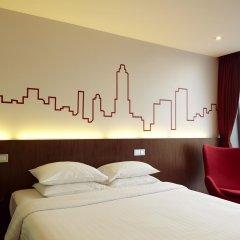 Отель Galleria 10 Sukhumvit Bangkok by Compass Hospitality 4* Номер Делюкс с различными типами кроватей фото 7