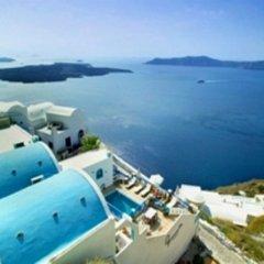 Отель Agnadema Apartments Греция, Остров Санторини - отзывы, цены и фото номеров - забронировать отель Agnadema Apartments онлайн бассейн фото 3