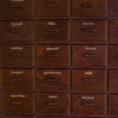 Отель Sigiriya Village сейф в номере