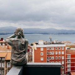Отель Art Santander Испания, Сантандер - отзывы, цены и фото номеров - забронировать отель Art Santander онлайн балкон