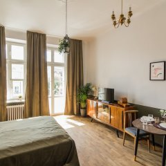 Отель Aparthotel Nowy Swiat 28 Варшава комната для гостей