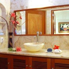 Отель Porto Playa Condo Hotel & Beachclub Мексика, Плая-дель-Кармен - отзывы, цены и фото номеров - забронировать отель Porto Playa Condo Hotel & Beachclub онлайн ванная