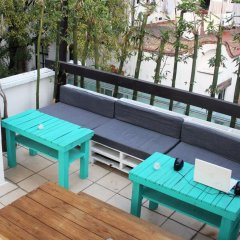 Отель Hostal Mx Coyoacan Мехико балкон