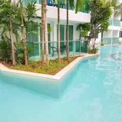 Отель Amazon Condo & Water Park Pattaya Паттайя бассейн