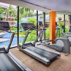 Отель Novotel Phuket Surin Beach Resort Таиланд, Пхукет - 7 отзывов об отеле, цены и фото номеров - забронировать отель Novotel Phuket Surin Beach Resort онлайн фитнесс-зал фото 4