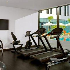 Отель Aloft Me'aisam, Dubai фитнесс-зал