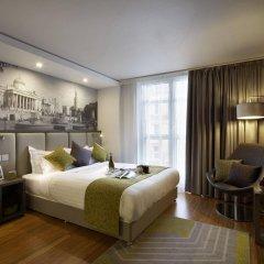 Отель Citadines Trafalgar Square London комната для гостей