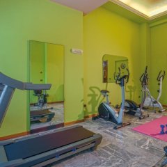 Отель Terme Cristoforo Италия, Абано-Терме - отзывы, цены и фото номеров - забронировать отель Terme Cristoforo онлайн фитнесс-зал