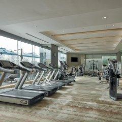 Отель Pan Pacific Xiamen фитнесс-зал фото 3