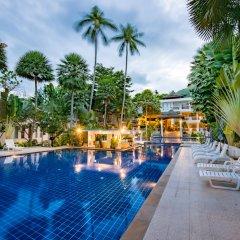 Отель Koh Tao Montra Resort & Spa бассейн