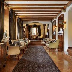 Отель Mont Cervin Palace интерьер отеля