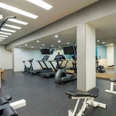 Отель Real Inn Perinorte Тлальнепантла-де-Бас фитнесс-зал