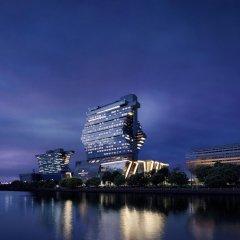 Отель Langham Place Guangzhou Гуанчжоу приотельная территория